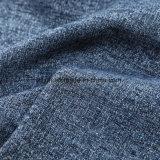ソファーの家具製造販売業のための100%年のポリエステル織り方のジュートのリネンファブリック