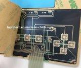 Водонепроницаемая с металлическим оттенком цвета при печати мембранный переключатель