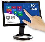 """22 """" monitor ancho 4K de la pantalla táctil del ordenador de la PC LED"""