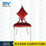 Стула Тиффани мебели стул красного стальной для штанги и трактира