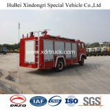 Tipo serbatoio interno dell'acqua di Dongfeng 6ton del camion dei vigili del fuoco
