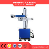 Lcd-Fliegen-Metallfaser-Laser-Markierungs-Maschine mit Förderband