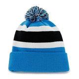 Милый Multicolor изготовленный на заказ шлем Beanie зимы прокладки связанный картиной