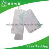 カスタム印刷の衣類のペーパーこつの札