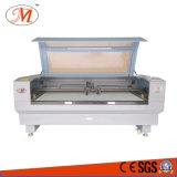 彫版機械(JM-1810T)を切る衣服材料