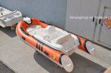 Liya 3.3m Fiberglas-Fischerboot-kleines Rippen-Boots-Geschwindigkeits-Boot