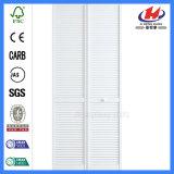 Traditionelle hölzerne weiße hölzerne Vorhang-Blendenverschluss-Wandschrank-Türen