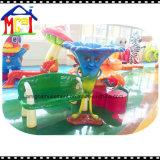 만화 버섯 당 훈장 섬유유리 장난감 위락 공원 모형 세트