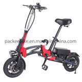 CER En15194 Vertrag, der elektrisches Fahrrad mit Pedal-Vorlage faltet