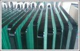Espace libre/glace Tempered teintée/r3fléchissante/ultra claire pour la porte/guichet/frontière de sécurité/balustrade