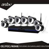 câmara de vigilância impermeável da segurança do CCTV do infravermelho do jogo de 2MP NVR
