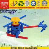 Plano de blocos de construção plástica Toy