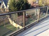Balustrade en verre clair 10mm 12mm de verre flotté Prix en verre trempé