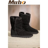 Vrouwen Angie shearling omzoomde Suede Boots