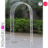 Antiguos Retro arco de metal para la decoración de bodas al aire libre