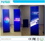 P3mm Glas-LED Plakat mit WiFi 3G für Einkaufszentrum