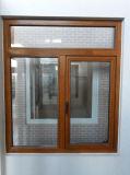Venster van het Aluminium van het Product van Woodwin het Hoofd Houten Beklede (ys-72)