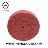 Nicht gesponnenes Polierabdeckstreifen-Rad (grüne Farbe)