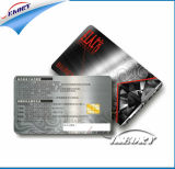 L'impression UV plastique inscriptible els Banque carte IC5542 Contact