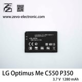 Batterie de téléphone mobile d'origine Bl-42fn pour LG Optimus moi C550 P350 P355