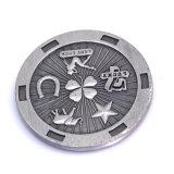 Het promotie Plateren van het Nikkel van de Inzameling Dubbele Zij graveerde Zilveren Metaal 2 Euro Muntstuk