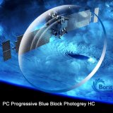 1.591 PC прогрессивного синий блок Photogray Hc оптический объектив
