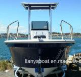 Liya 8 pessoa Barco de fibra de vidro para a pesca Panga Fabricantes Barco China
