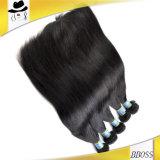 Бразильское Unprocessed выдвижение человеческих волос