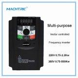 Energiesparender Frequenz-Inverter 0.75-1.5kw 220V Wechselstrom-Motordrehzahlcontroller