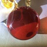 Dsjuggling 95mmの赤いアクリルの接触のごまかす球マジック球