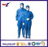 Anti pano de estática do anti Workwear de estática com a anti combinação de estática do tampão
