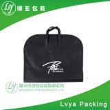 Couverture noire promotionnelle de procès de sacs de vêtement