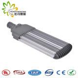 Luz de rua ajustável 250W ao ar livre do diodo emissor de luz, lâmpada de rua solar barata do diodo emissor de luz da luz de rua do diodo emissor de luz com aprovaçã0 de Ce& RoHS