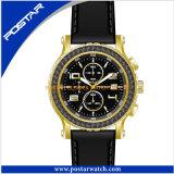 Het Zwitserse Horloge Sport van de van het Bedrijfs roestvrij staal Mensen van de van uitstekende kwaliteit van de Chronograaf