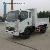 Sinotruk HOWO 4X2 판매를 위한 소형 가벼운 덤프 트럭