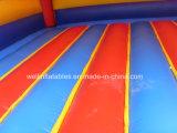 El castillo de salto de diapositiva Hinchables para niños parte