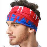 Ausgezeichnete Qualitätsim freien komprimierender Stirnbandwindundurchlässiger nahtloser Bandana (YH-HS379)
