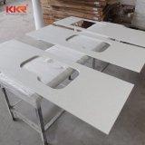 Kkr comptoir de salle de bains en marbre artificiel pour la décoration d'accueil