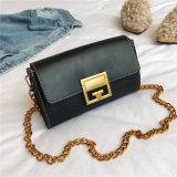 Ultima borsa della signora Small Bag PU Women della spalla della catena del messaggero dell'annata