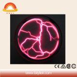 Rundes Blitz-Symbol-Plasma-Kugel-Kristalllicht