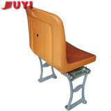Lindo Armless de madera en color naranja para el concierto Online relajarse sillas del Estadio de Fútbol Deportes al aire libre de asientos los asientos de plástico