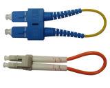 De Vezel Loopback van de Optische Kabel Sc-LC voor Mededeling