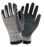 Нитриловые покрытием Impact-Resistant Механические узлы и агрегаты перчатки для работы с помощью молотка