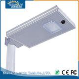 12W tutto in uno/ha integrato l'indicatore luminoso di via solare del LED con il sensore di movimento
