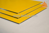 Goldgoldener silberner Pinsel aufgetragenes gute Qualitätsaluminiumzeichen-Material