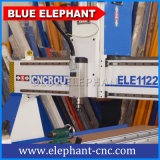 Blue Elephant маршрутизатор CNC машины 1122 4 оси ЧПУ дерева механизма цена