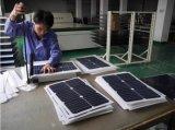 신제품, 20W 반 유연한 Sunpower 태양 전지판