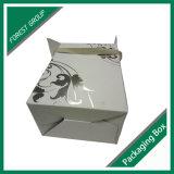 Горячим коробка вина фольги гофрированная печатание бумажная с ручкой тесемки