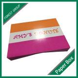 Caixa de papel queque branco do cartão do mini (FP900007)