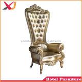 Sofà gentile del trono di cerimonia nuziale della presidenza della regina di prezzi di fabbrica per il banchetto del ristorante dell'hotel